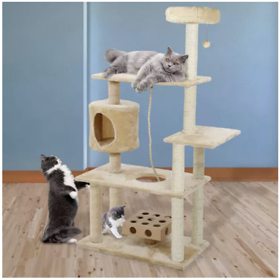 Cat Tower and Condo On Sale Cute Tree Large Indoor Perch Climbing Multi Adult IQ