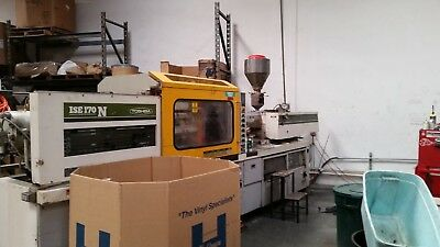 Toshiba Injection Molding Maching, ISE170