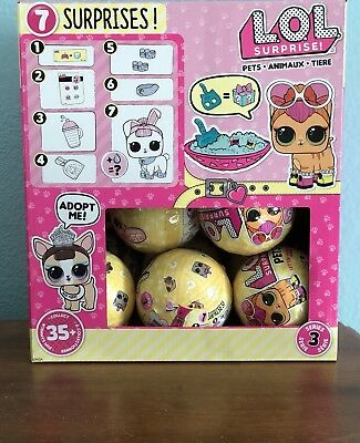 Authentic Lol Surprise Pets Series 3