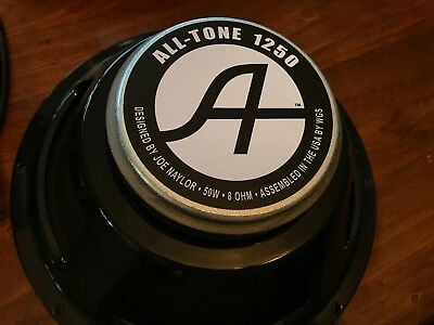 "All-Tone USA 1250 - 12"" 50-watt guitar speaker 8 Ohm"