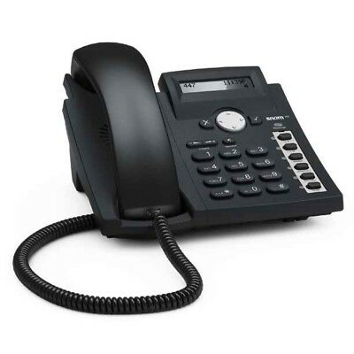 SNOM 300 VOIP IP 4 Line SIP POE Business Telephone Phone Set in Good Condition