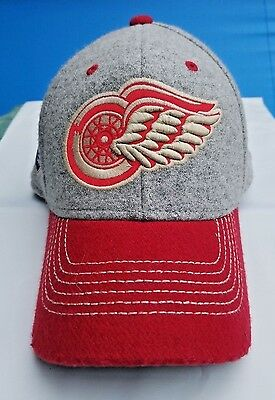 new style ce4f2 d7529 Detroit Red Wings NHL Winter classic Flex fit hat