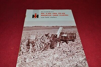 International Harvester 2-MH 2M-HD Corn Picker Dealer Brochure YABE14