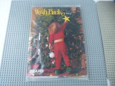 1992 Sears Canada Christmas Wish Book Catalogue New Still In Wrapping
