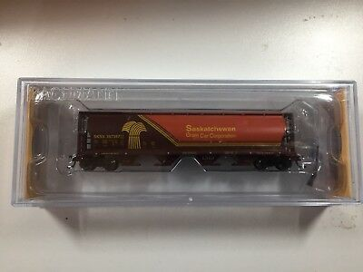 "N Scale 4 Bay Hopper ""Saskatchewan Wheat Herald"""