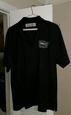 men's  large shirt sleeve polo uniform shirt Showboat Casino Atlantic City NJ