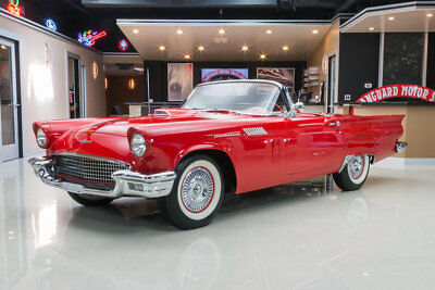 1957 Ford Thunderbird Convertible Fully Restored T-Bird! Ford 312ci V8, Automatic Transmission, All Original Steel