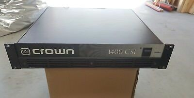 Crown 1400 CSL 2-Channel Pro Audio Stereo Power Amplifier
