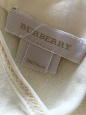 Burberry Baby Boys Top Brand New