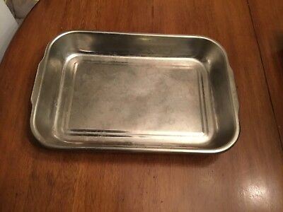 """Vollrath 61230 3.5 Qt Bake and Roast Pan Stainless Steel 14 7/8 x 10 1/4 x 2"""""""