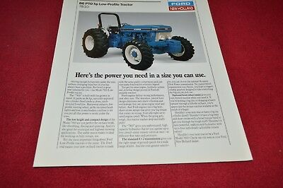 Ford 7810 Low Profile Tractor Dealer's Brochure YABE14