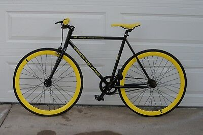 """Widmer Brother Brewing Fixie 21"""" Bicycle / The Original American Hefeweizen NEW"""