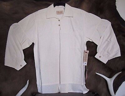 NWT  SIZE M MENS OLD WEST EARLY FRONTIER COTTON  WESTERN SHIRT by SCULLY