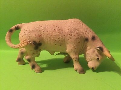 schleich rodeo bull 13613 retired rare new with tags