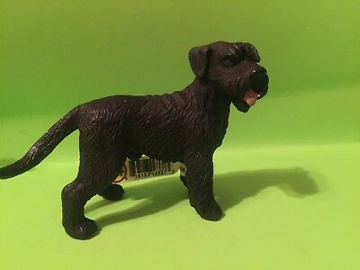 schleich giant schnauzer dog retired new rare with tags 16337