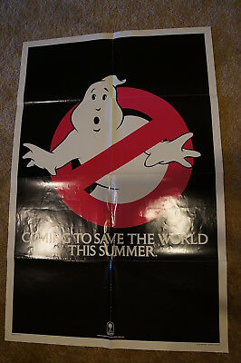 Ghostbusters  Rare Teaser  Horror  One Sheet 1984