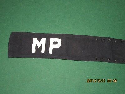21F100%Orig WWII WW2 Vietnam 6th Cav MP Arm Band Brassard Wool Felt For Sleeve