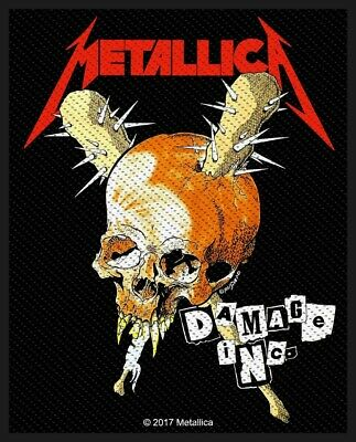 Metallica Damage Inc Patch Official Heavy Metal Band Merch New