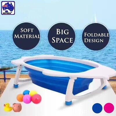 Baby Infant Newborn Bath Bathtub Bathing Folding Safety Foldable Tub BIBA989