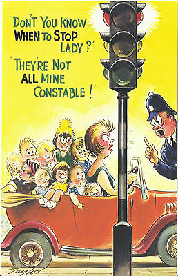Vintage 1970's Bamforth COMIC Postcard (as new condition) Stop it #366