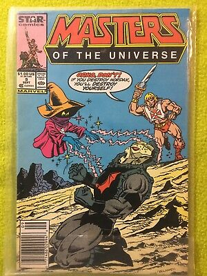 Masters Of The Universe #9 Marvel Star Comics Comic Book