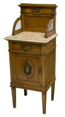 CONTINENTAL DIRECTOIRE STYLE BEDSIDE CABINET, early 1900s