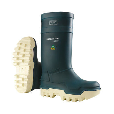 Dunlop Purofort Thermo+ Full Safety Blue Shoes Factory Cold Weather - E662673