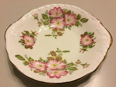 Nice Wild Rose Royal Grafton Fine Bone China Jacobean Bowl Made In England