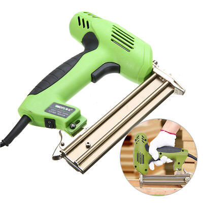 Electric Staple Nailer Stapler Straight Nail Gun Framing Finishing Air Tool 220V