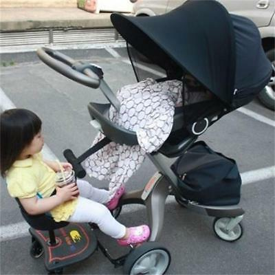 Universal Stroller Pram Sun Shade Baby Infant UV Protection Rays Cover Awning FW