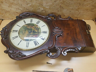 Fusee Clock for Spares or Repairs