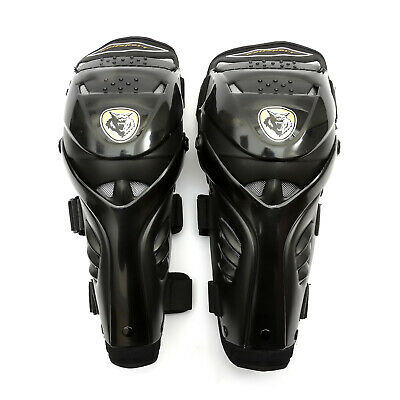 Wulfsport Adult Hinged Knee Pad Protector Body Armour MX Motocross Pitbike MTB