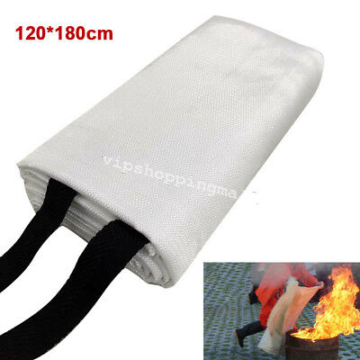 High Quality 3.9ftX5.9ft Fiberglass Welding Blanket Protect From Sparks&Splatter