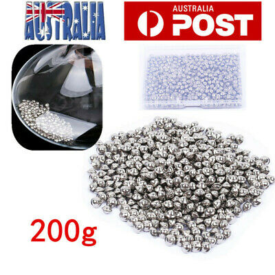 200g Stainless Steel Decanter Cleaner Beads Wine Glass Bottle Cleaning Balls AU