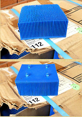 112 BLUE NYLON BRISTLE BLOCKS FOR GERBER AUTO CUTTER TABLE 100mm x 100mm x 40mm