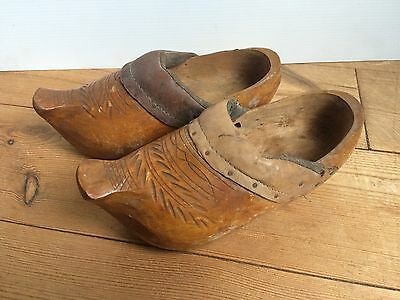 Zuecos Antiguos Infantiles / Antique Child Clogs