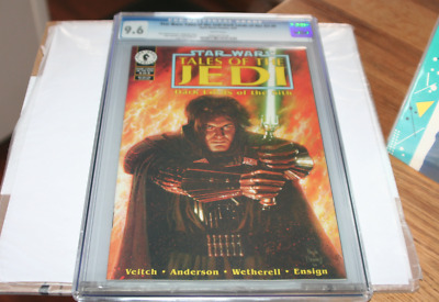 Star Wars: Tales of Jedi #6 CGC 9.6 March 1995 Dark Lords of The Sith Exar Kun