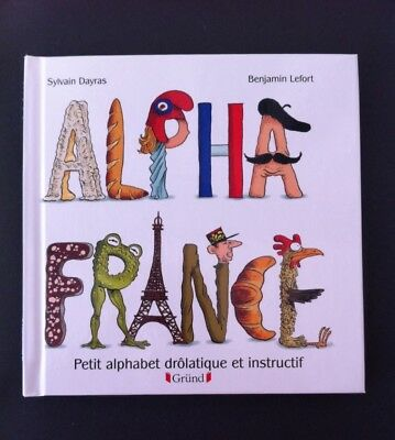 X 2 French Children Books: Alpha France. & On Piege Le Mammouth. Livres enfants