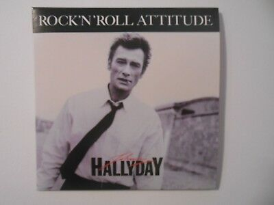 ☆ JOHNNY HALLYDAY ☆ ROCK'N'ROLL ATTITUDE (de MICHEL BERGER) ( CD du 45 1985 )