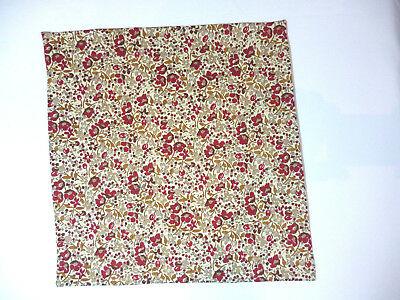 Liberty of London Tana lawn cotton women's pocket handkerchief Floral (1)   NEW