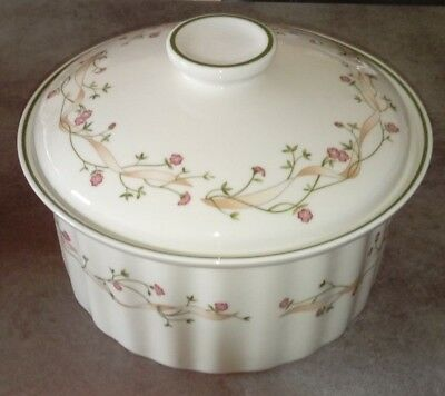 Large Johnson Brothers Eternal Beau Casserole/tureen Oven Lidded Dish