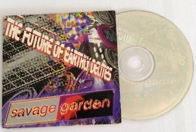 Savage Garden - The Future Of Earthly Delites - RARE Promo Aus Only 3trk CD