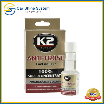 K2 ANTI-FROST Winter Treatment Concentrated ADDITIVE Fuel & Diesel Defroster