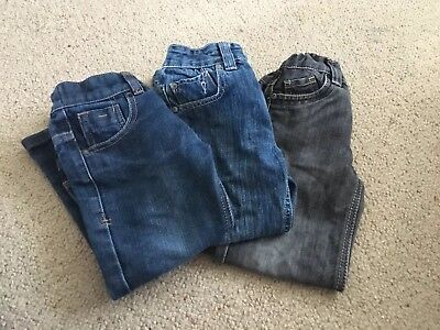 Bundle 3 X Boys Jeans Aged 4-5 Years