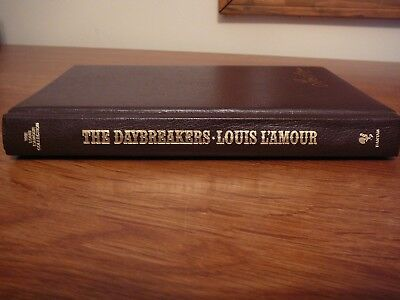 Louis L'Amour Leatherette Book - THE DAYBREAKERS