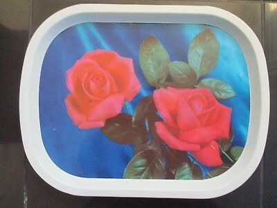 VINTAGE RETRO MID CENTURY WORCESTER WARE TRAY, 1960's, KITSCH, ROSES, SUPERB!!