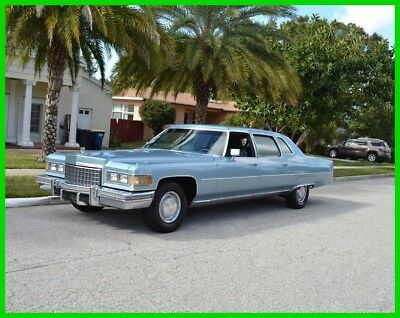 1976 Cadillac Fleetwood SEVENTY-FIVE 9 PASS 1976 SEVENTY-FIVE 9 PASS Used Automatic