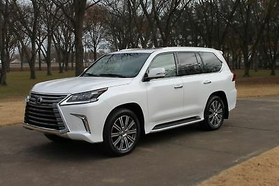 "2017 Lexus LX 570 One Owner Perfect Carfax MSRP $98125 One Owner Perfect Carfax ""Like New"" MSRP New $98125"