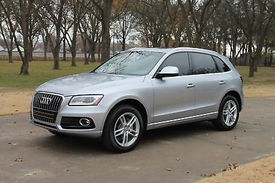2016 Audi Q5 Premium Plus AWD Tech Pkg One Owner Perfect Carfax Only 8k Miles Tech Pkg MSRP New $49430