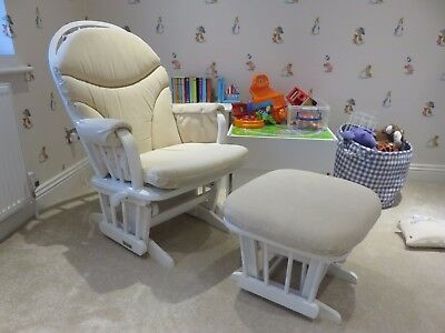 Beautiful Quality Dutailier Gliding / Nursing Chair + Footstool